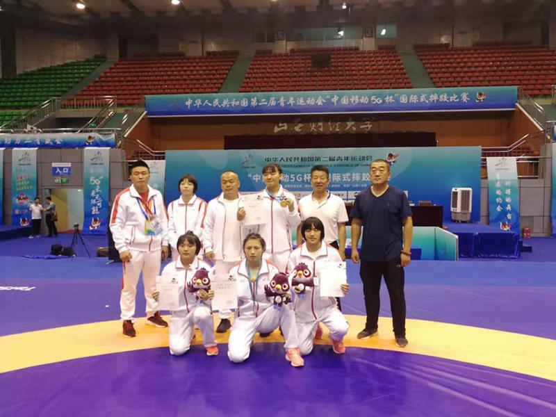 beplay体育官网体育健儿荣获全国 第二届青年运动会自由式摔跤冠军